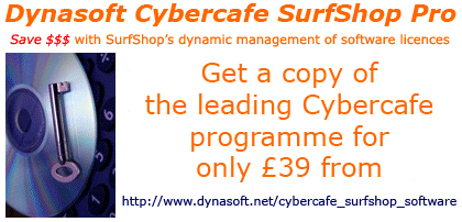 Dynasoft Cybercafe SurfShop Pro Screenshot