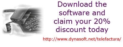 Dynasoft TeleFactura Screenshot 1