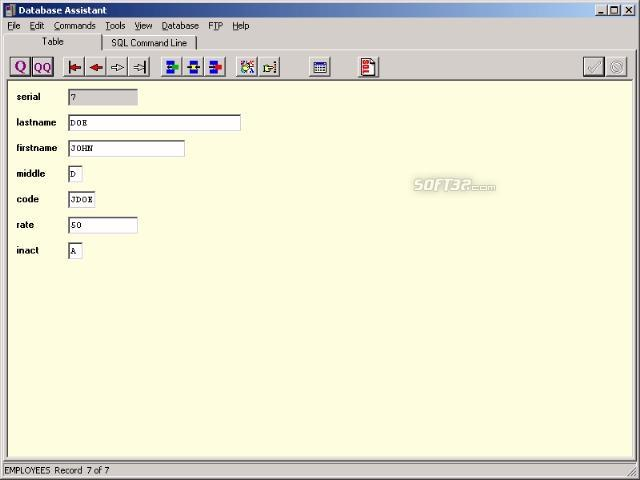 Database Assistant Screenshot 2