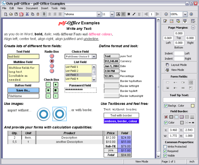 pdf-Office Professional Screenshot