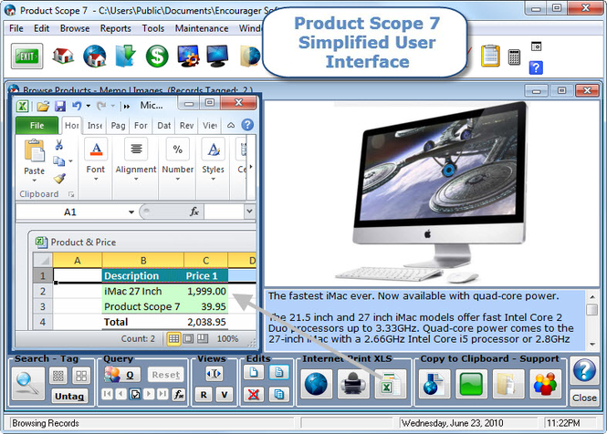 Product Scope Screenshot