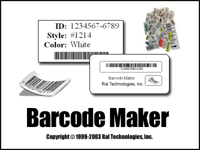 Raltech Barcode Maker Screenshot