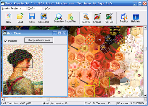 Easy Mosaic Studio Screenshot