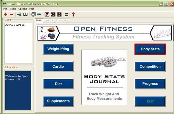 Open Fitness Screenshot 3