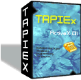 TAPIEx ActiveX Control Screenshot