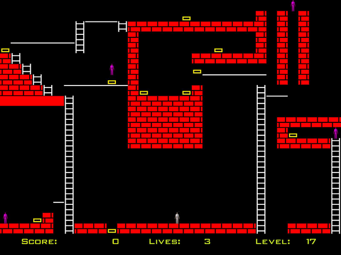 Snatch and Run : Lode Runner Screenshot 1