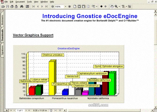 eDocEngine VCL Screenshot 2