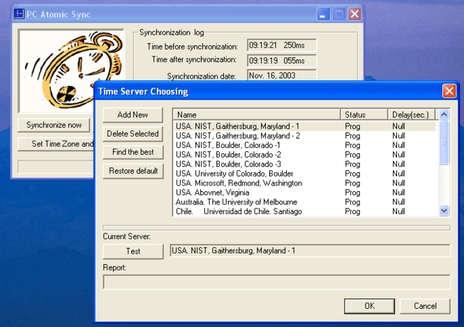 PC Atomic Sync Screenshot