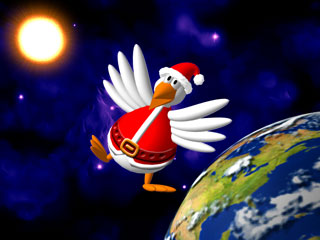 Chicken Invaders 2 Christmas Edition Screenshot