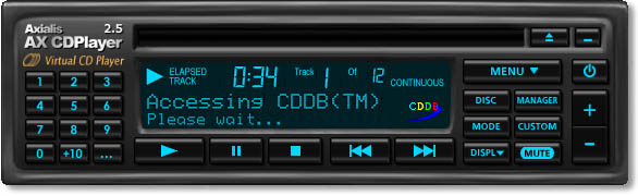 Axialis AX-CDPlayer Screenshot
