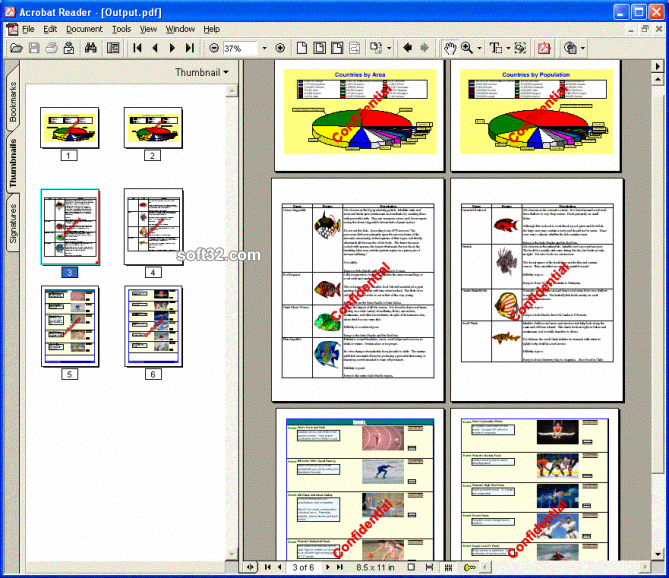PDFtoolkit VCL Screenshot 2