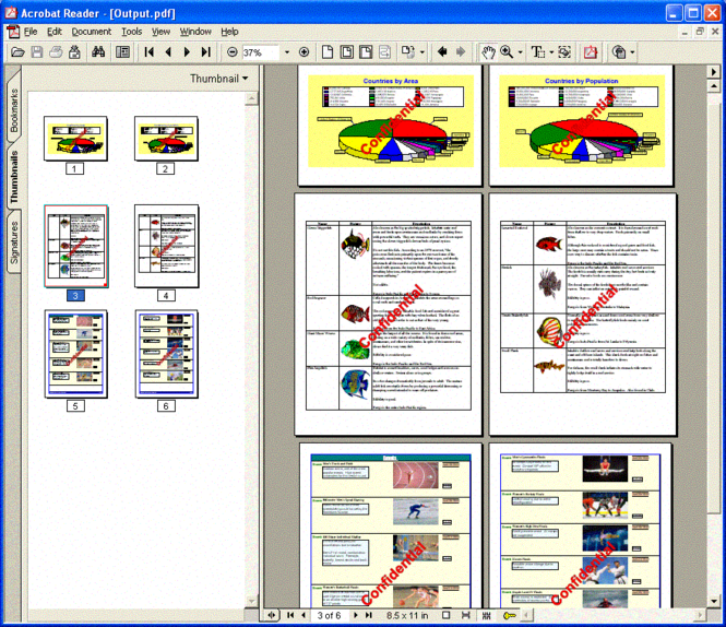 PDFtoolkit VCL Screenshot 1