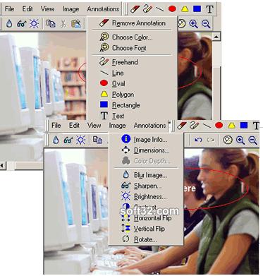 Ektron WebImageFX Screenshot
