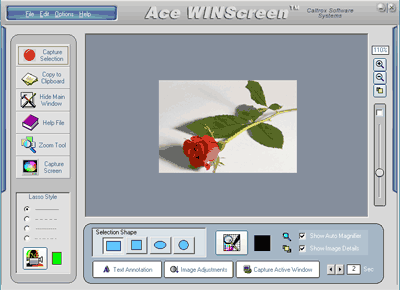 Ace WINScreen Screenshot 1