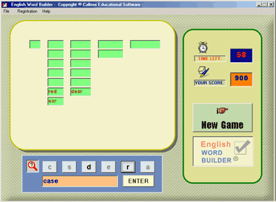 English Word Builder Screenshot 1