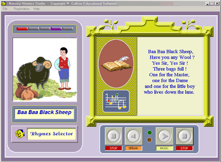 Nursery Rhymes Studio Screenshot