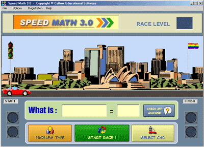 Speed Math Screenshot