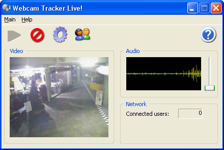 Webcam Tracker Live! Screenshot