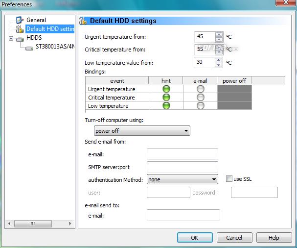 HDD Temperature Pro Screenshot 3