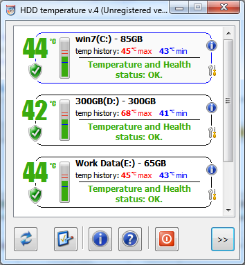 HDD Temperature Pro Screenshot 1