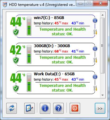 HDD Temperature Pro Screenshot