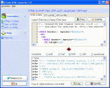 0-Code HTML Converter Screenshot 1