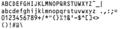 Morovia OCR-A OCR-B Fontware 3