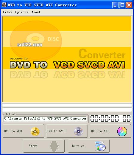 DVD to VCD SVCD MPEG AVI Converter Screenshot