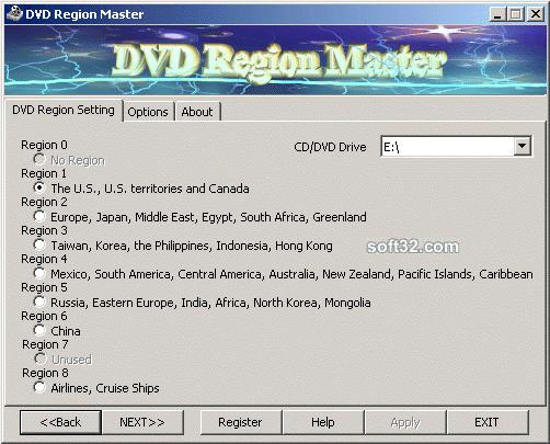 DVD Region Master Screenshot 2