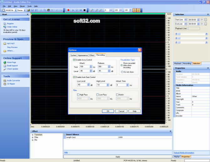 Audio Editor Pro Screenshot 2
