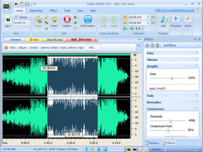 Audio Editor Pro Screenshot 6