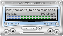 Ease MP3 Recorder Screenshot 1