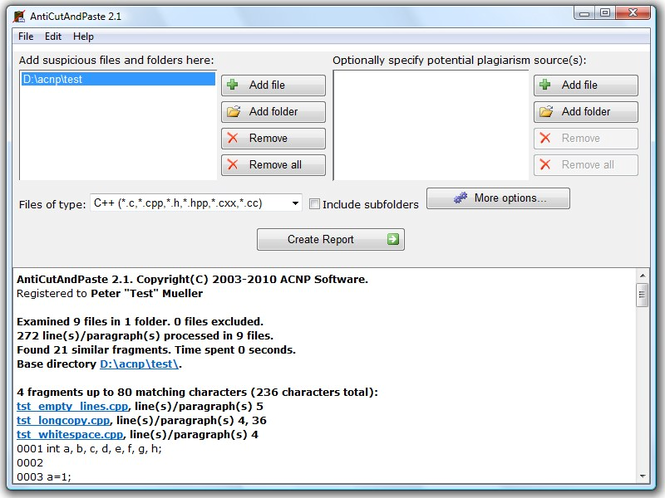 AntiCutAndPaste Screenshot 1
