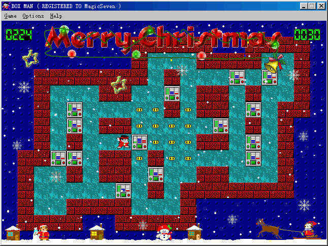 Box Man Xmas Edition Screenshot