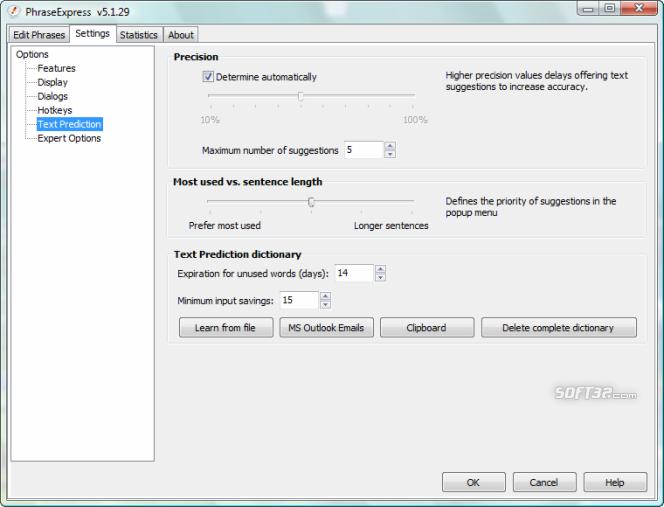 PhraseExpress Text Expander Screenshot 4