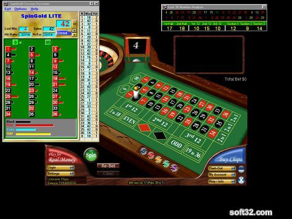 SpinGold Roulette Companion LITE Screenshot 2
