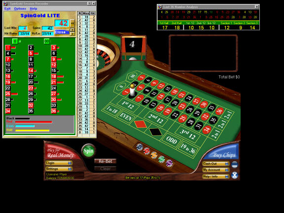 SpinGold Roulette Companion LITE Screenshot 1