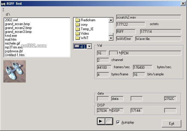 RIFFview Screenshot