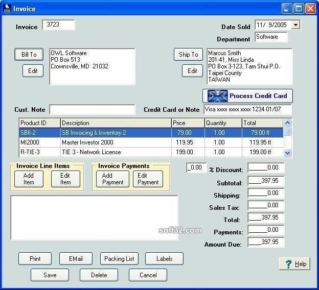 Simple Business Invoicing & Inventory Screenshot 3