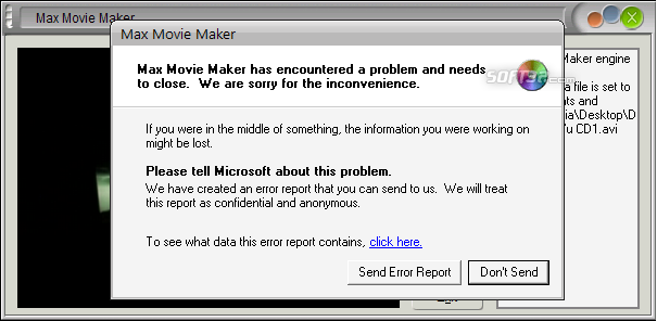 Max Movie Maker Screenshot 5