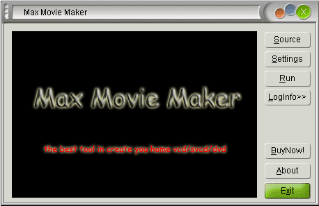 Max Movie Maker Screenshot 1