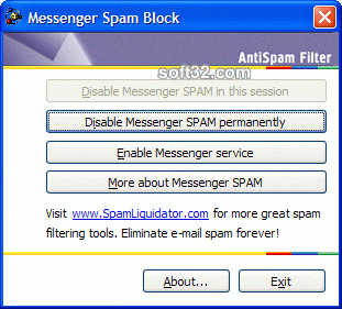 Messenger Spam Block Screenshot 1