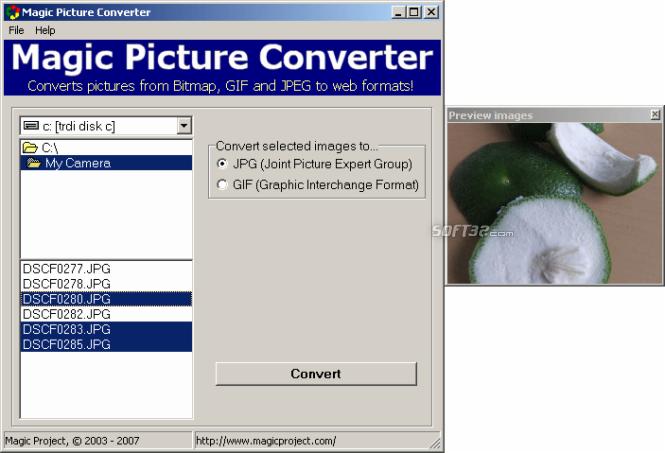 Magic Picture Converter Screenshot 2
