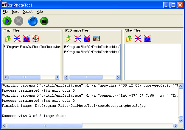 OziPhotoTool Screenshot 1