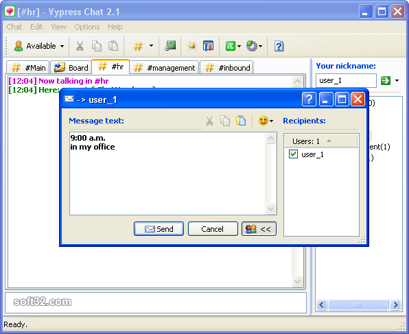 Vypress Chat Screenshot 3