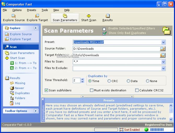 Comparator Fast Screenshot 3