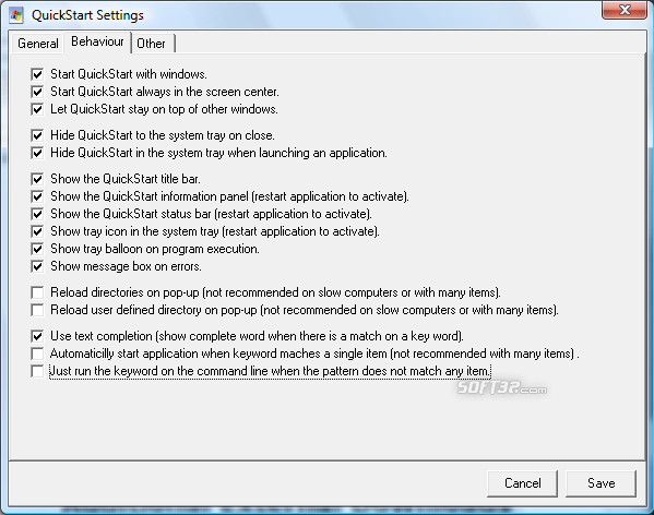 QuickStart Screenshot 6