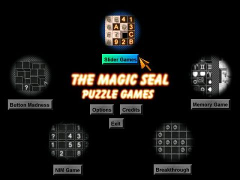 The Magic Seal Puzzle Games Screenshot 1