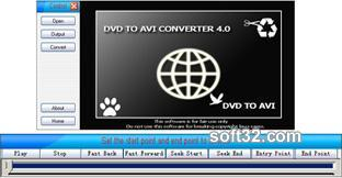Wise DVD to AVI Converter Screenshot 2