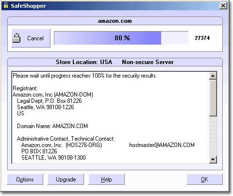 SafeShopper Screenshot